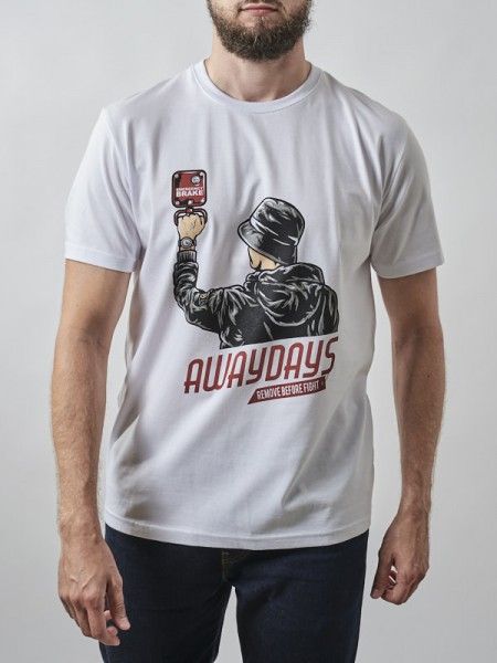 Awaydays T-shirt WHT