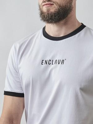 Print Ringer T-shirt WHT