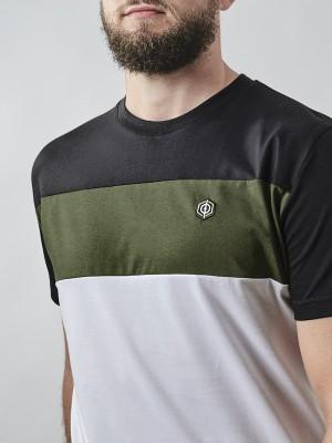 Classic Block Stripe T-shirt WHT