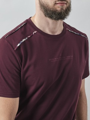 Tartan Edge T-Shirt BRG