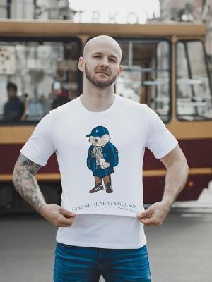 Casual Bear T-shirt WHT
