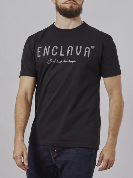 Print Enclava T-shirt BCK