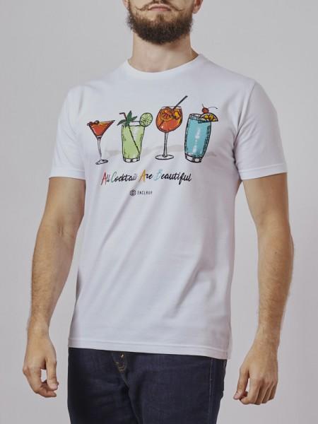 Cocktails T-Shirt WHT