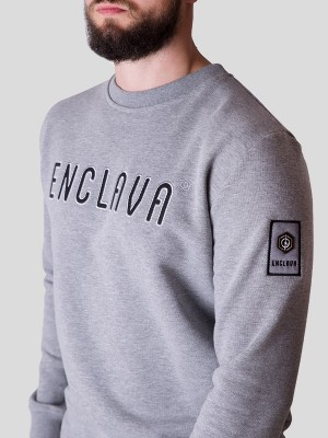Oxford Crewneck Sweat GRY
