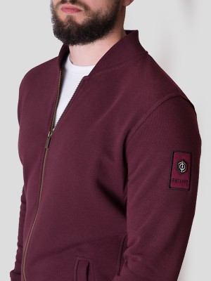 Classic Bomber Sweat BRG