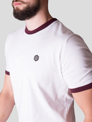 Classic Ringer T-Shirt WHT