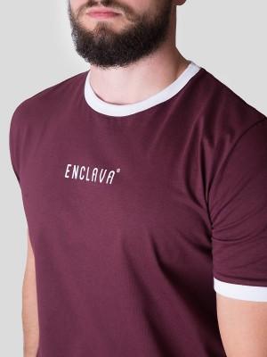 Print Ringer T-shirt BRG