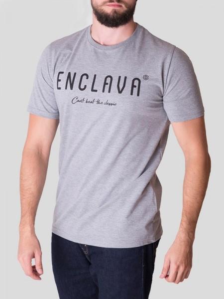 Print Enclava T-shirt GRY