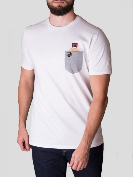 xSetunia Pocket T-shirt WHT