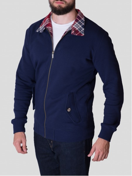Tartan Harrington Sweat NV