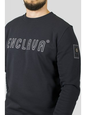 CHECK CREWNECK SWEAT ANT