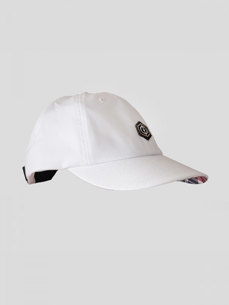 Tartan Cap WHT