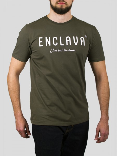 Print Enclava T-shirt OLV