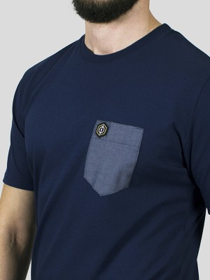 Pinpoint T-shirt pocket NV