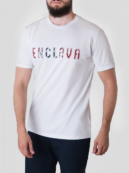 Tartan T-shirt WHT