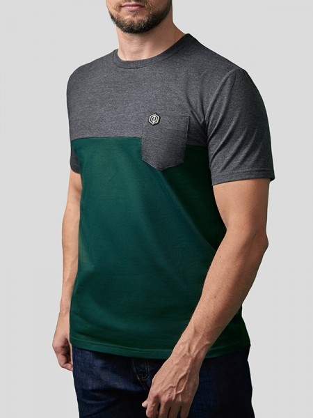 Half Pocket T-Shirt GRN