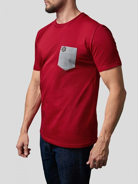 Print Pocket T-Shirt RD