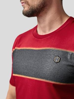 Block Stripe T-Shirt RD