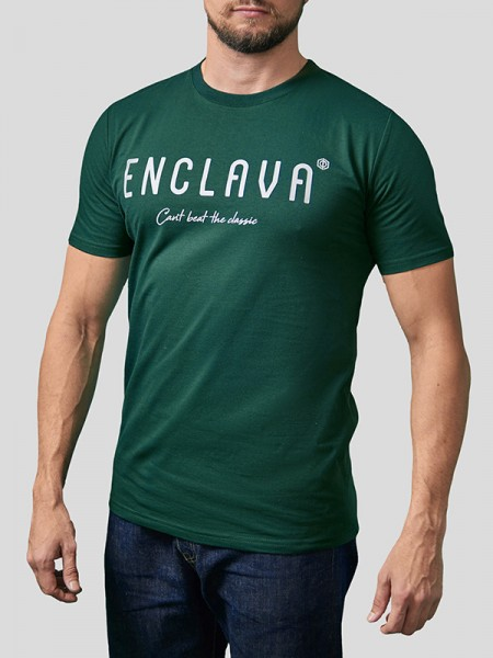 Print Enclava T-shirt GRN