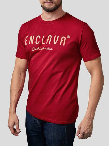 Print Enclava T-shirt RD