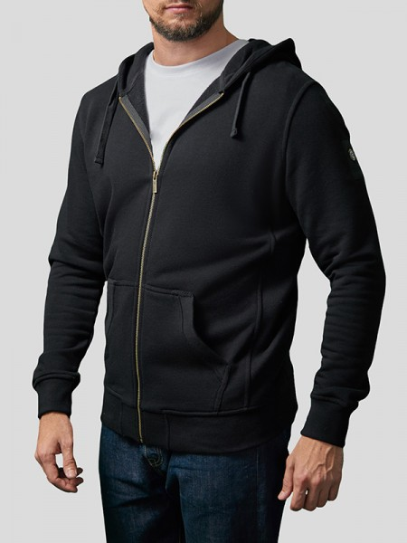 Classic Zip Through Hoodie BCK