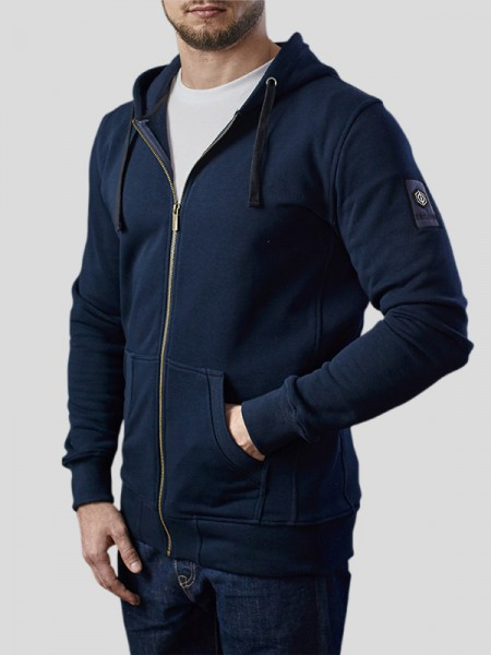 Classic Zip Through Hoodie NV