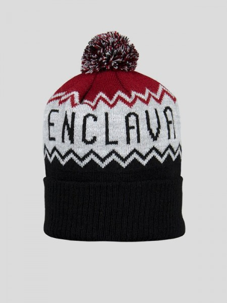 Bobble Hat BCK/GRY/BRG