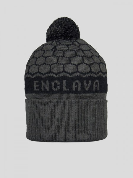 BOBBLE HAT BCK/GPH