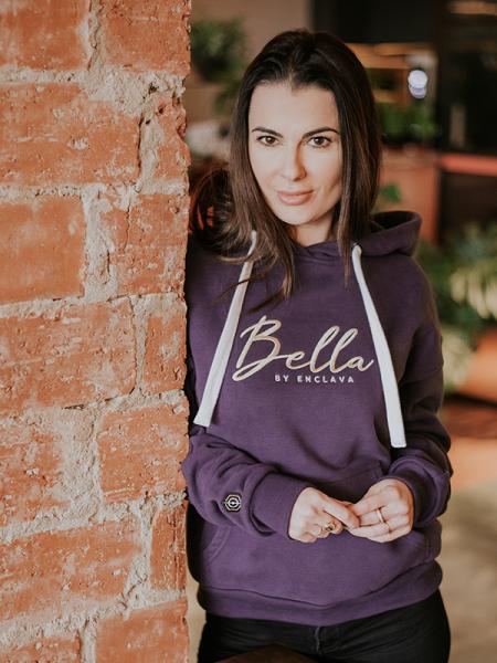 Bella Woman Hoodie VLT
