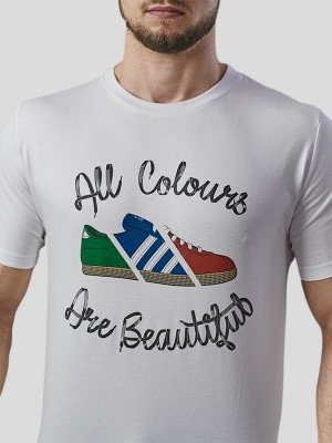 All Colours T-shirt WHT