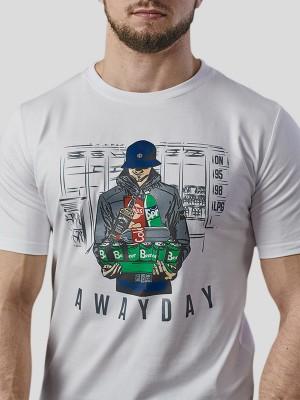 Awayday T-shirt WHT