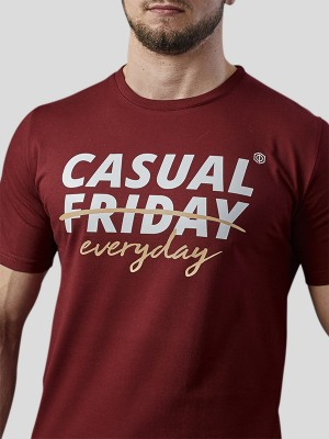 xCasual Everyday T-shirt BRG