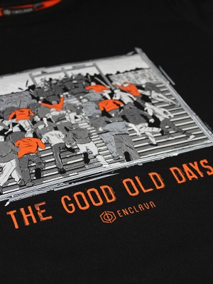 Old Days T-shirt BCK