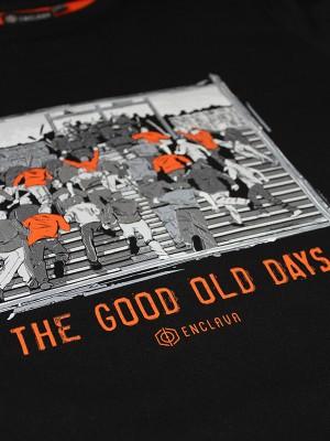 Old Days T-shirt BCK