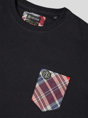Tartan Pocket T-shirt BCK