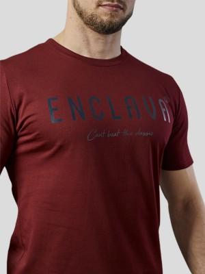 Print Enclava T-shirt BRG