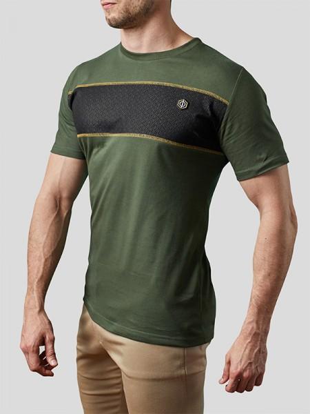 Block Stripe T-shirt OLV