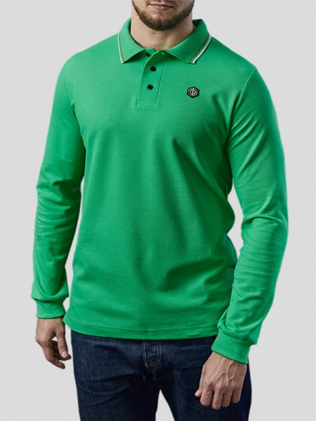 Classic Longsleeve Polo Pique MNT