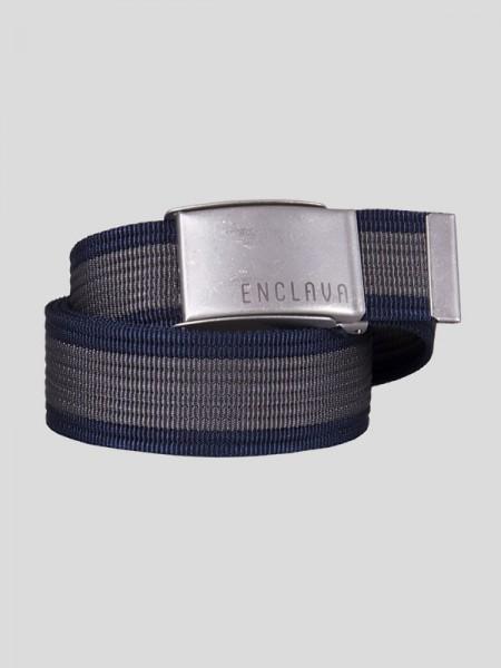 Webbing Belt GRY/SLV