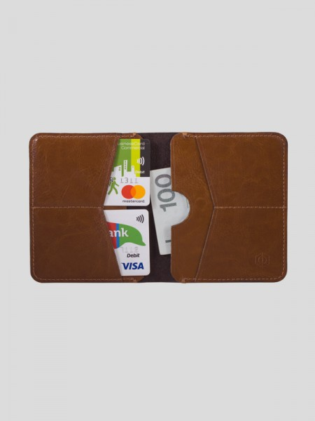 Slim Leather Wallet BRW