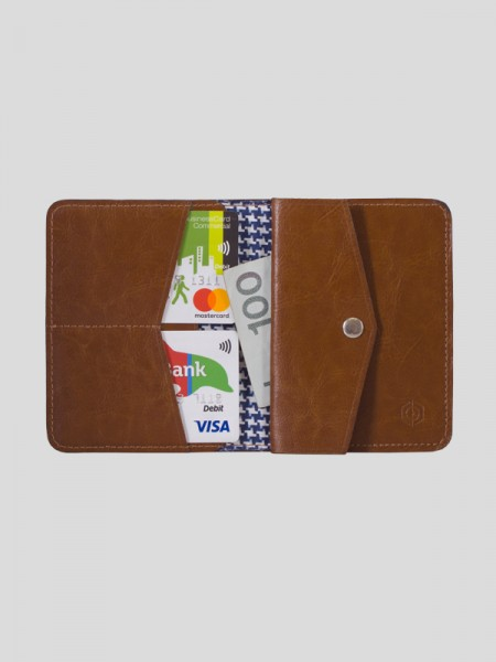 Slim Leather Coin Wallet BRW